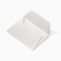 Umschlag Büttenpapier - gebrochenes weiß. A6 - 10,5 x 15,5cm