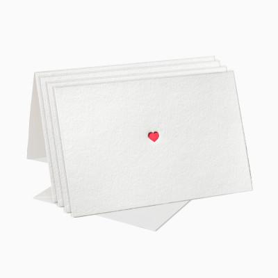 Letterpress Karten-Sets