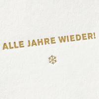 paul-dieter-letterpress_grusskarten_klappkarten_GK00068_alle-jahre-wieder_schnee_schneeflocke_weihnachten_zoom